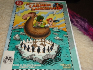 Issue two of the Carmen comic.